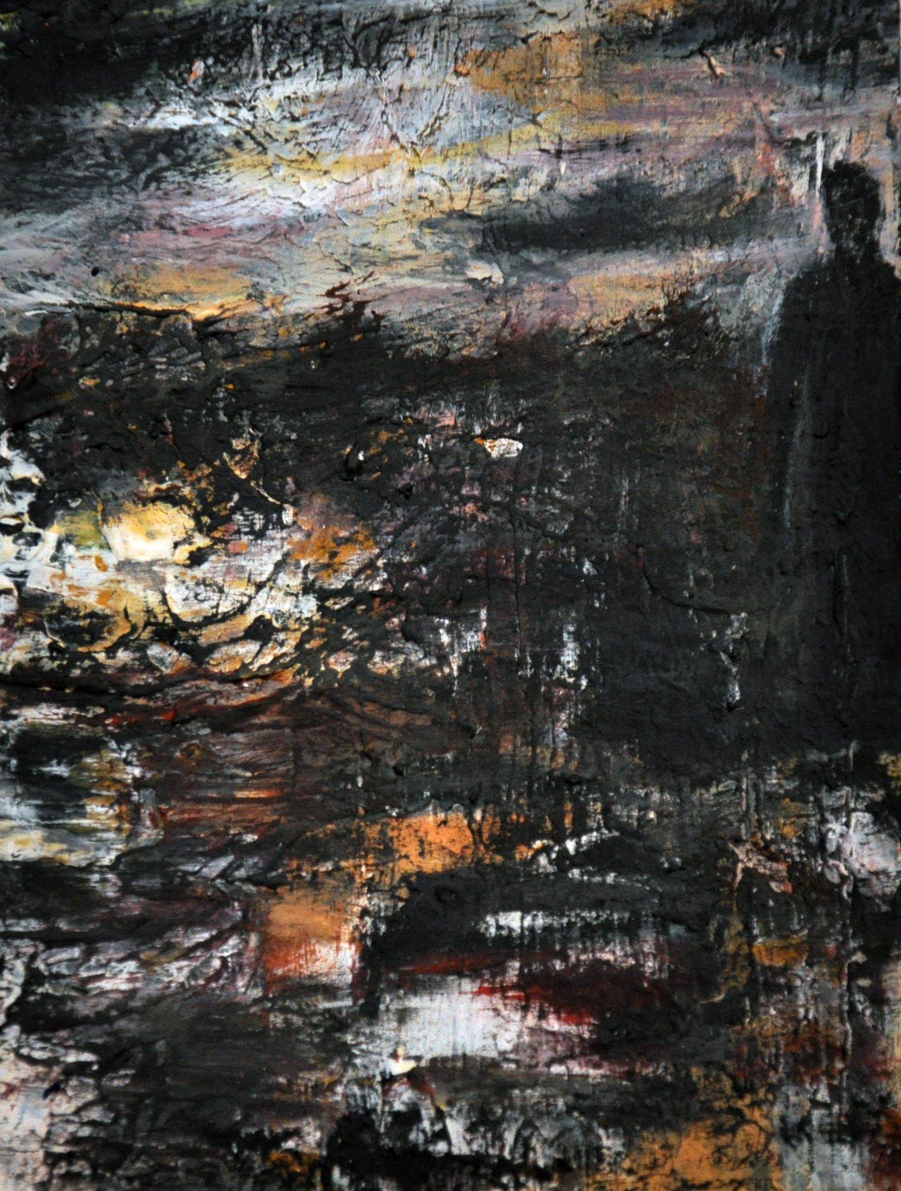 Akryl på kartong 10x15cm 2012
